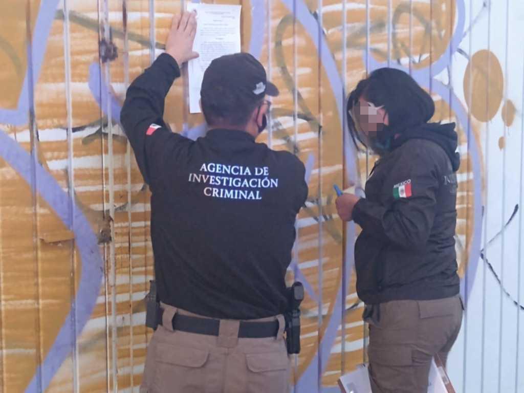 Cumplimenta la PFM orden de cateo en Tenancingo