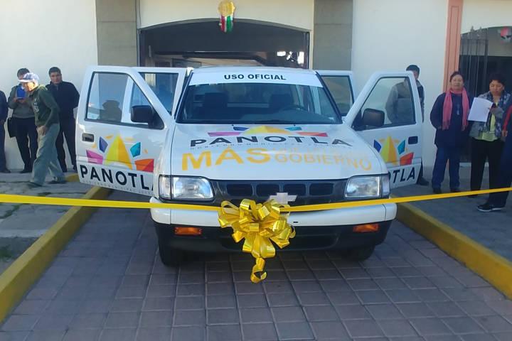 En Panotla mejoran parque vehicular para Servicios Públicos