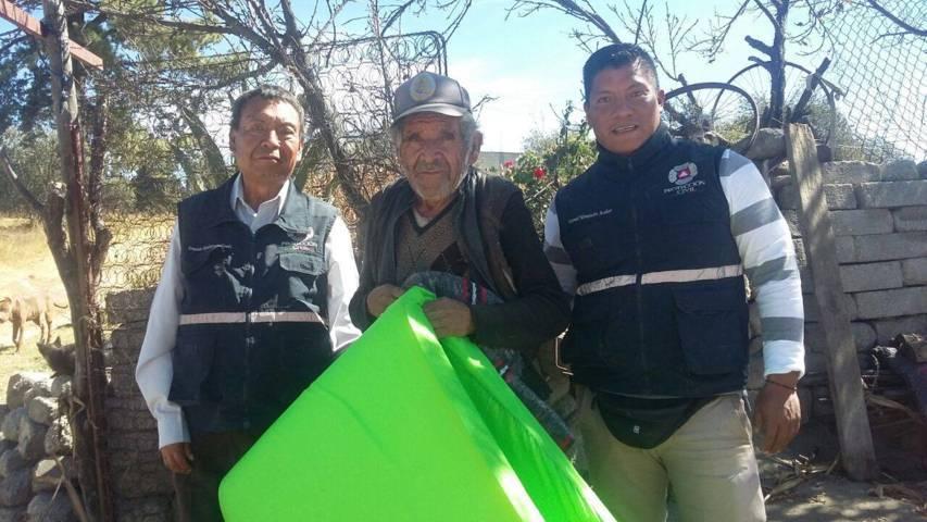 Protección Civil de Chiautempan habilita refugio temporal ante el frente frío
