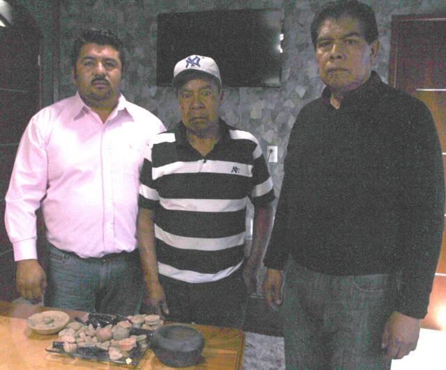 Ciudadano de Lardizábal dona piezas arqueológicas al museo