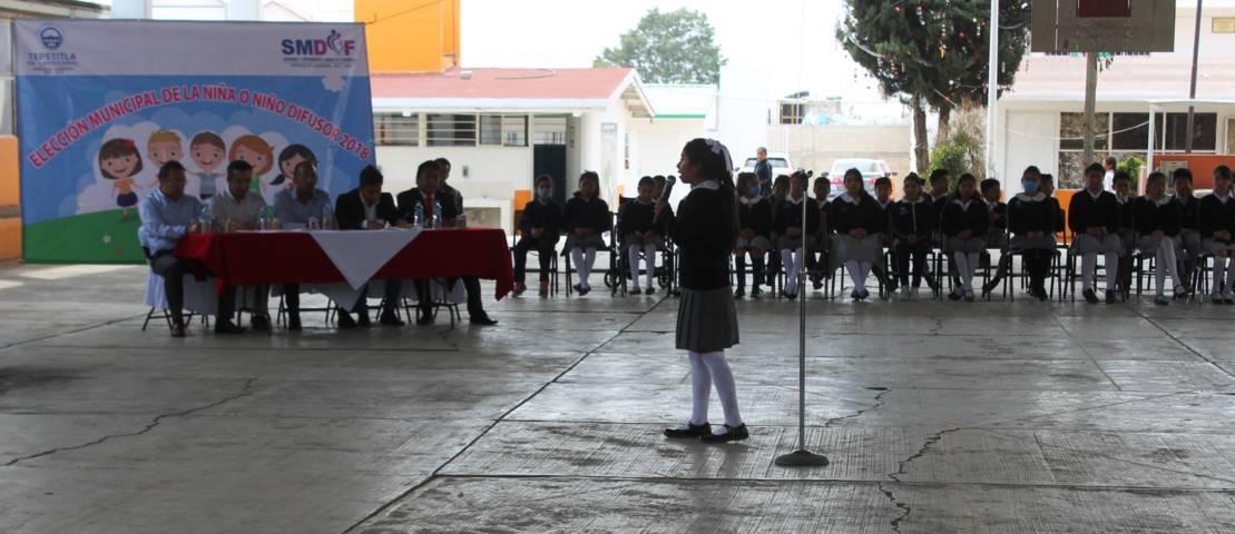 Ximena Islas representará al municipio de Tepetitla como niña difusor