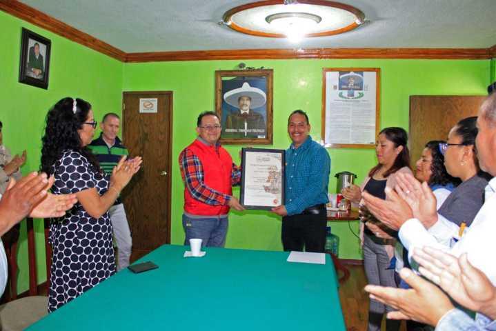 El Distintivo DH es por impulsar los Derechos Humanos en el municipio: alcalde