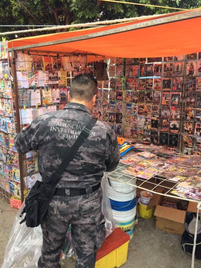 Aseguran más de dos mil piezas pirata en San Pablo del Monte