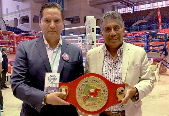 Es tlaxcalteca la empresa que patrocina el box mexicano