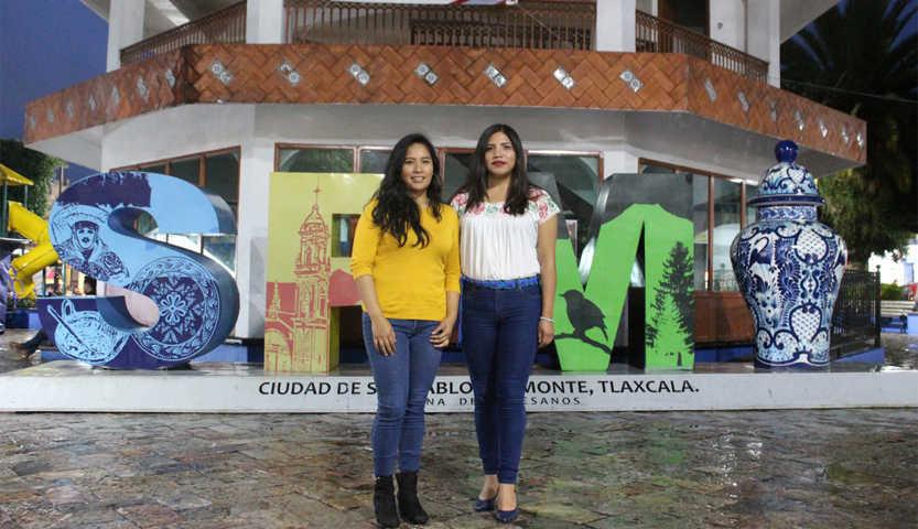 Mónica y Vianey representaran a SPM en el Parlamento Juvenil consultivo en la CDMX