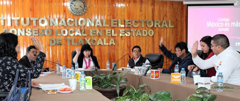 INE Tlaxcala trituró 22 mil 735 formatos y credenciales para votar