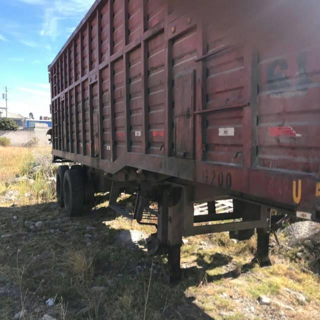 Recupera PGJE remolque tipo jaula robado en Tlaxcala