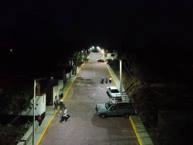 Zambrano Cervantes trasformó la calle Domingo Arenas de Atotonilco