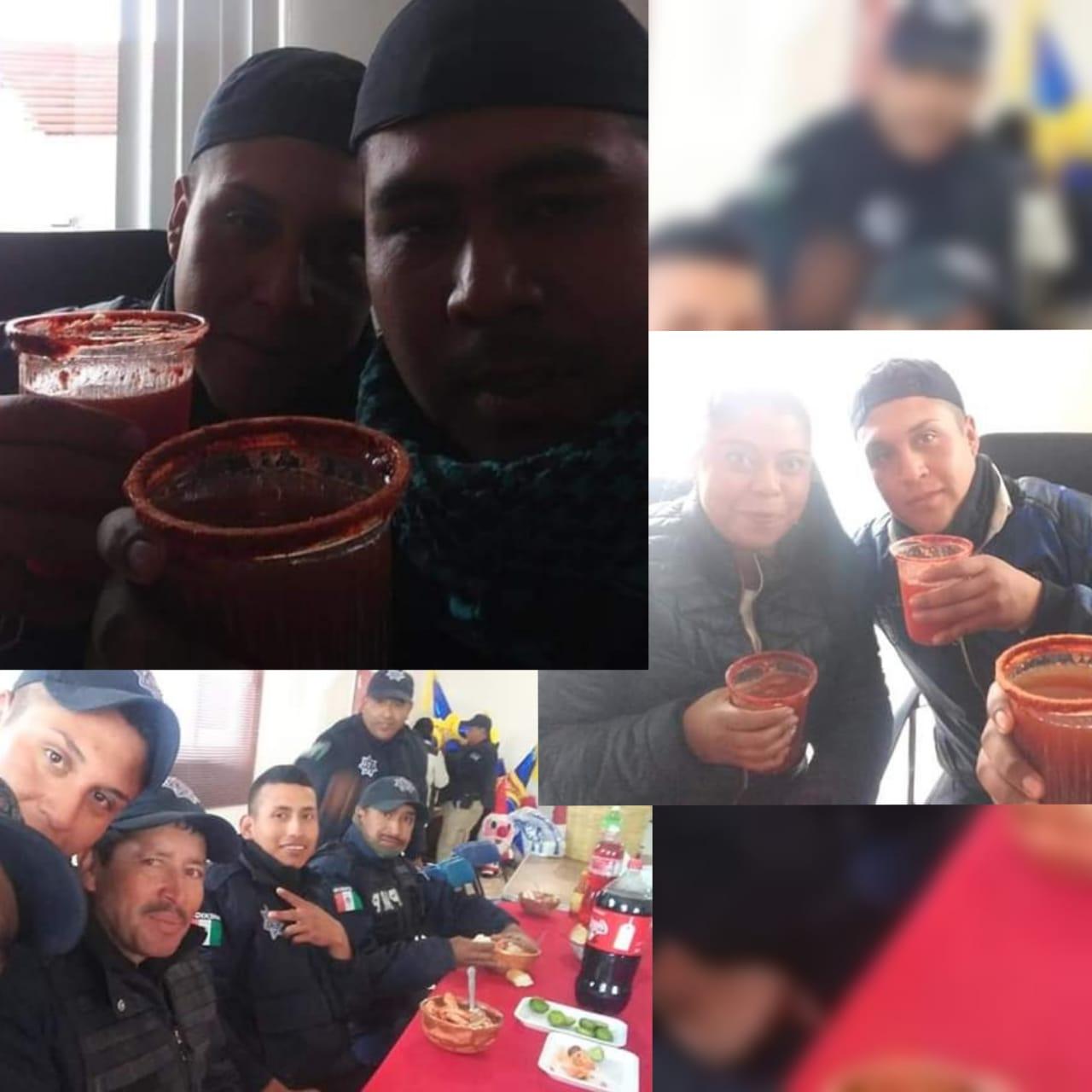 Delincuentes operan en Españita en lo que las autoridades se emborrachan
