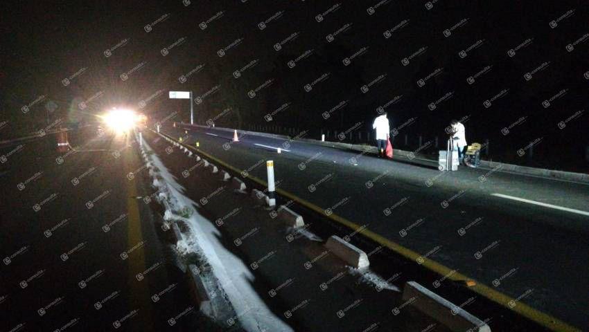 Muere persona en la autopista su cuerpo queda desmembrado