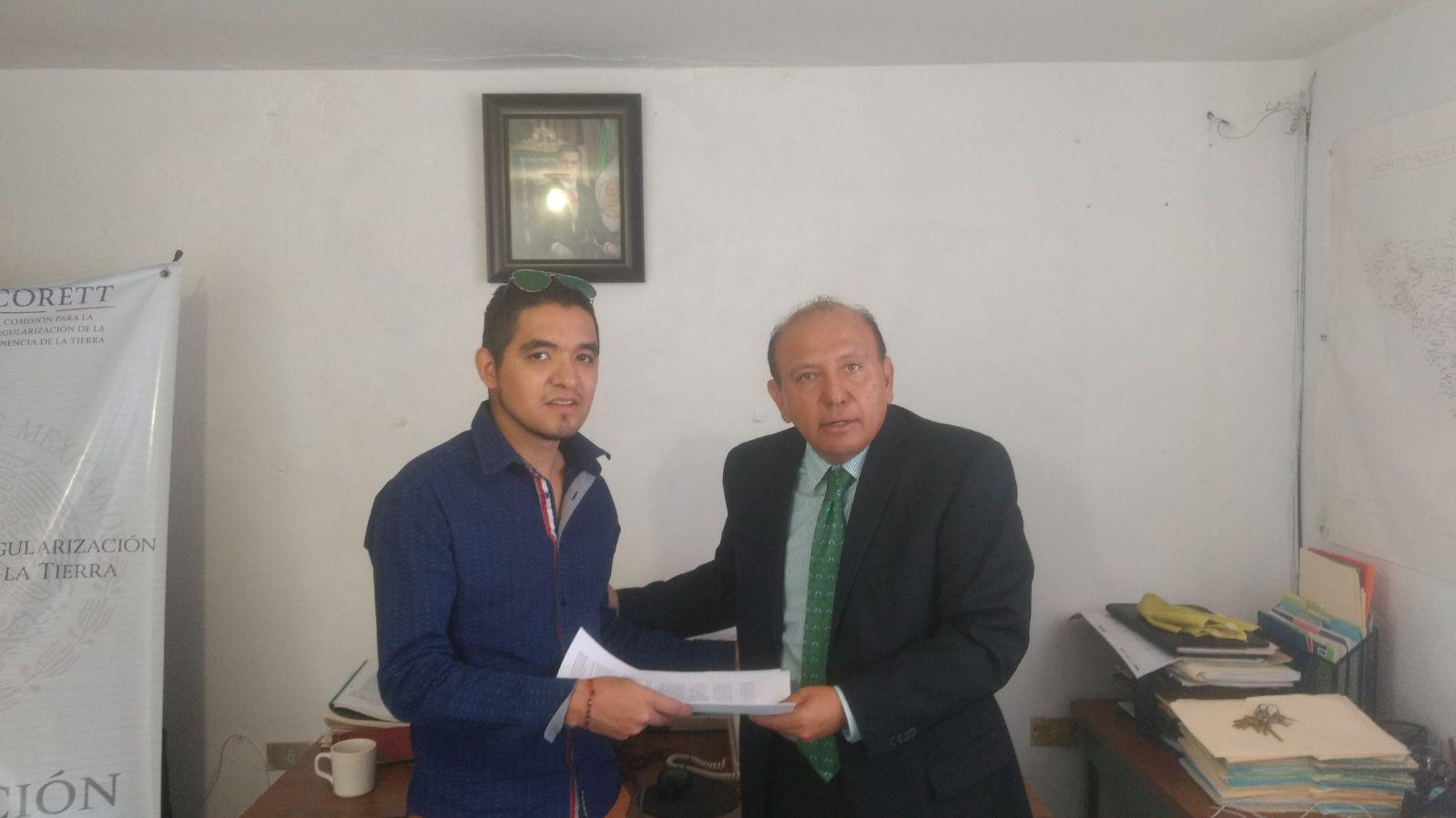 INSUS beneficiará a 213 propietarios en Ejido de Huamantla