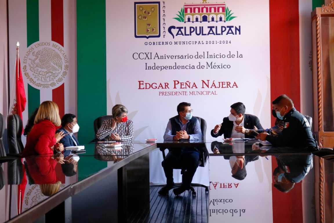 Impulsaremos los Derechos Humanos a favor de la gente de Calpulalpan: EPN