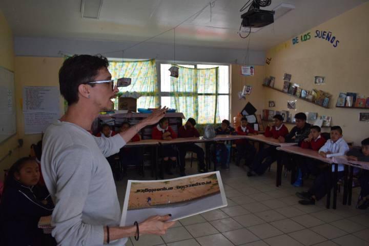 Con talleres dan a conocer la cultural y la arqueológico a niños de primaria