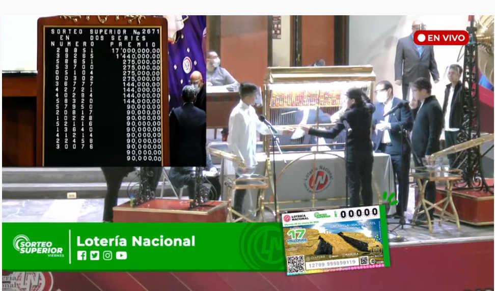 Merecido homenaje a Cacaxtla- Xochitécatl realiza la Lotería Nacional