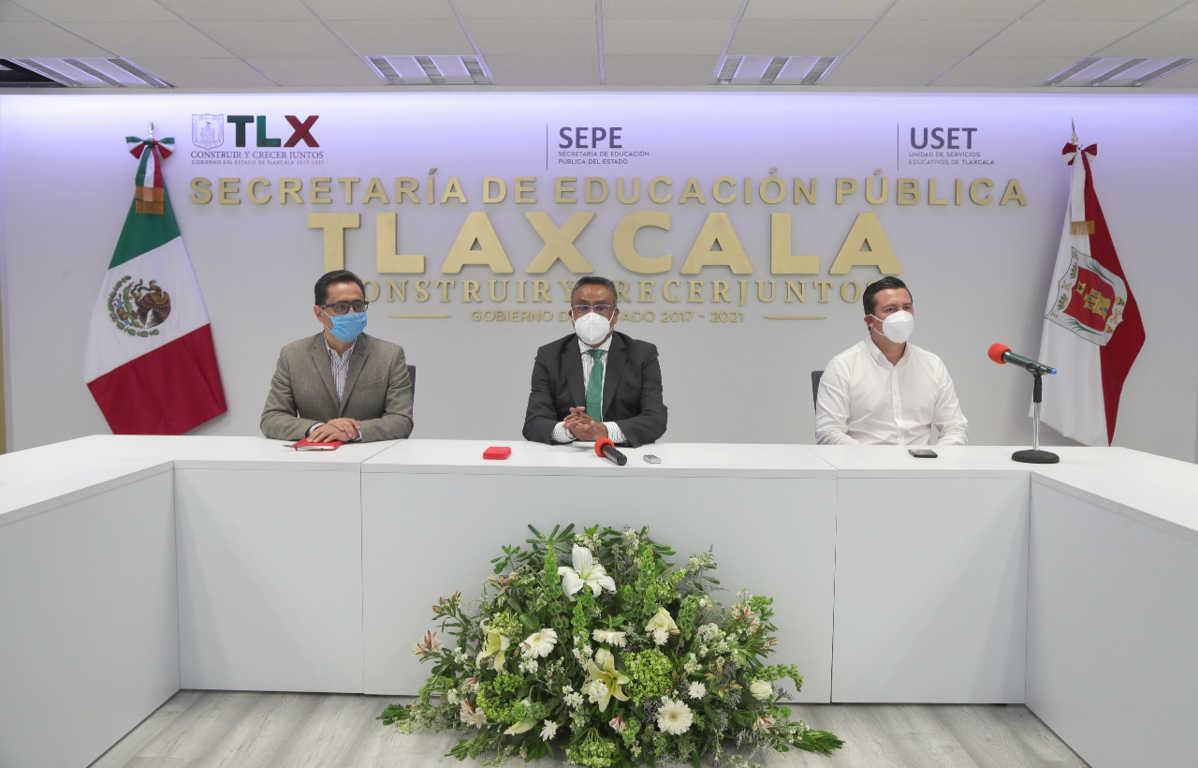 SEPE y Fundación Azteca detallan inicio de actividades de plantel educativo en Tlaxcala