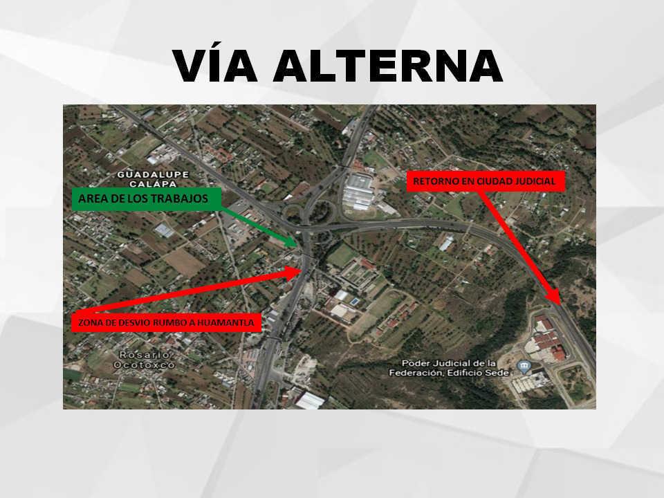 Anuncia SECODUVI cierre de la Carretera Tlaxcala-Apizaco este 31 de Marzo