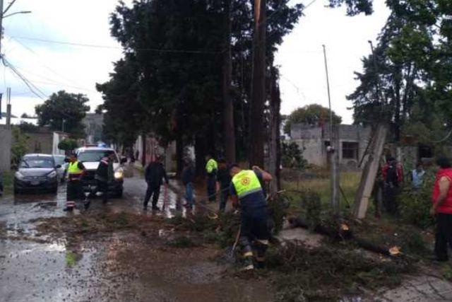 Brinda CEPC apoyo a la población, tras lluvia en municipios