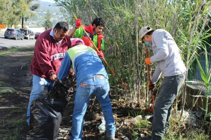 Ayuntamiento y la COEPRIST realizan acciones de limpieza en el Zoológico
