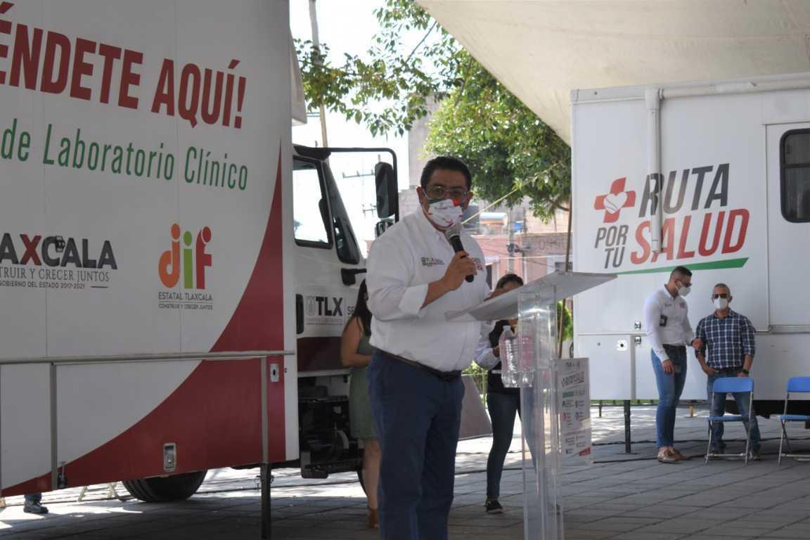 Brinda RUTA POR TU SALUD servicios médicos a familias en Zacatelco