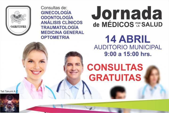 Jornada gratuita de Salud en Chiautempan