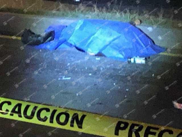 Motociclista pierde la vida al impactarse en una colectiva en Chiautempan