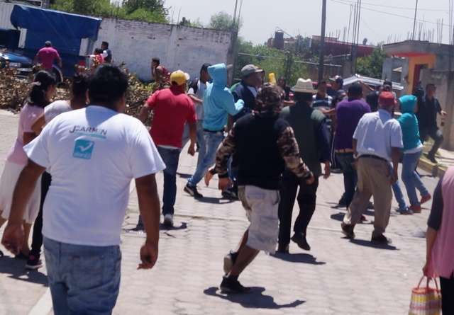 Hasta Buchanan´s dejaron al llegar granaderos en Huactzinco