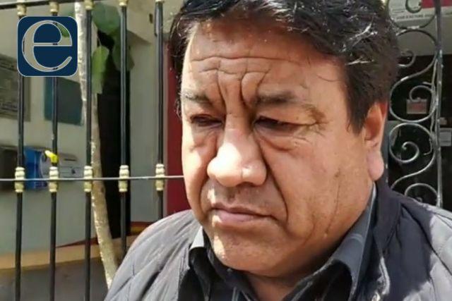 Admite Rubén Pluma que no tiene dinero para pagarle a los trabajadores de Tlaltelulco