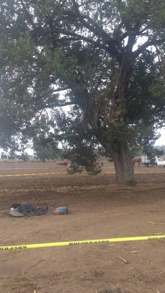 Mueren dos menores por caída de rayo en Huamantla