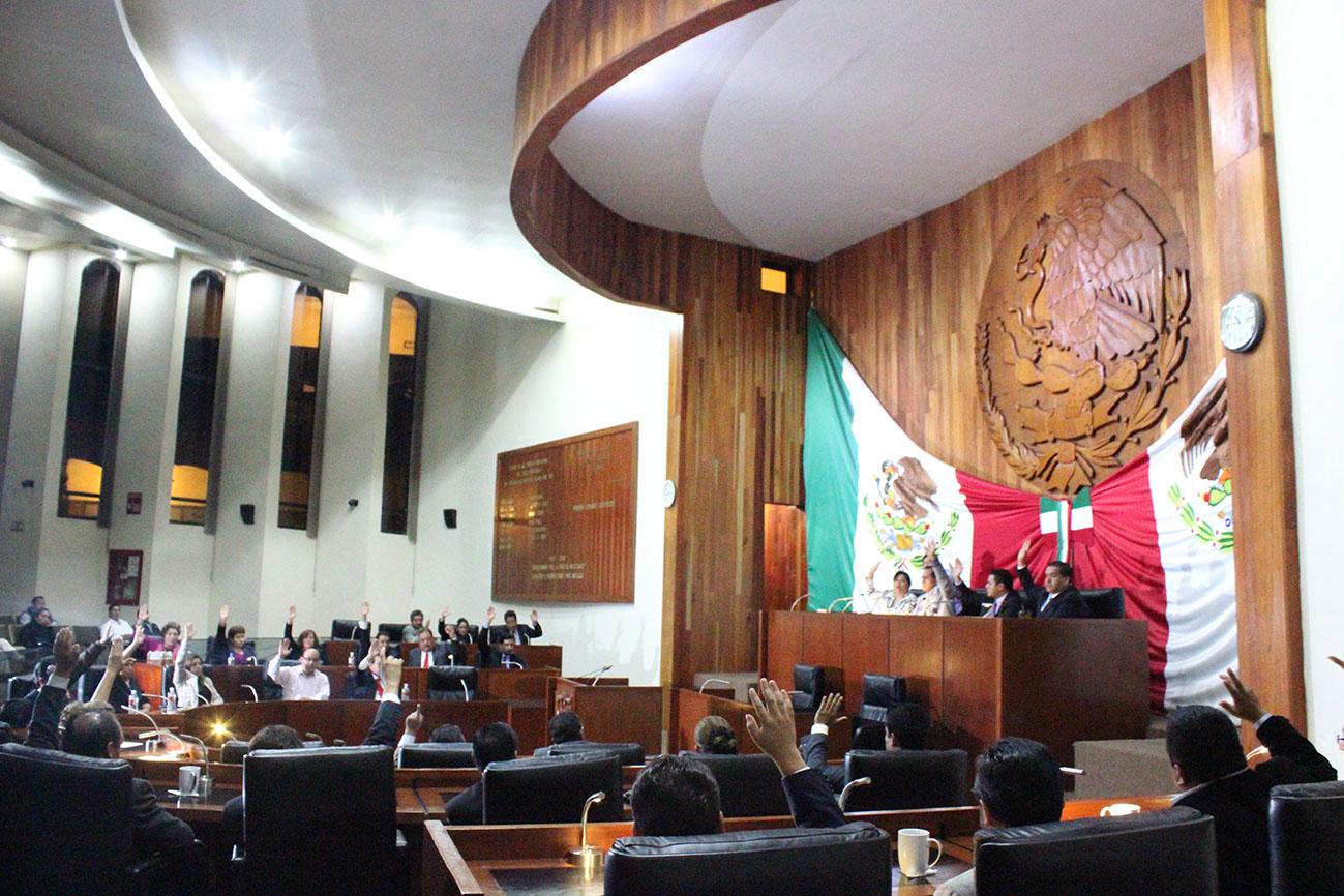 Cerró LXII Legislatura Local periodo ordinario de sesiones