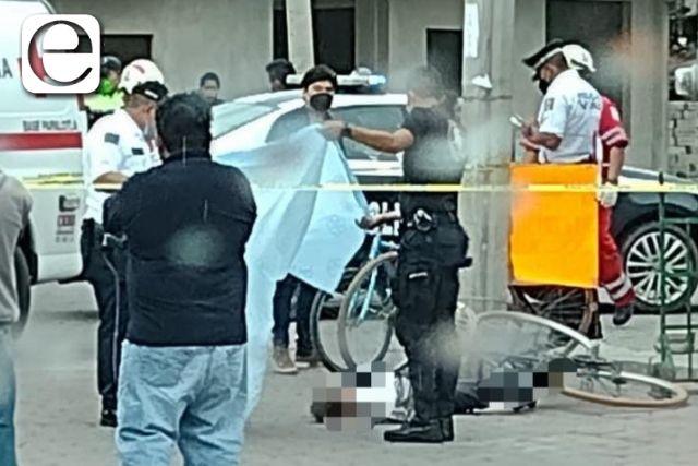 Atropellan y matan a ciclista en Zacatelco; el responsable se dio a la fuga