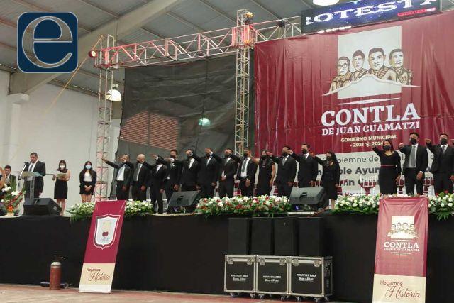 Eddy Roldán ya es presidente municipal de Contla