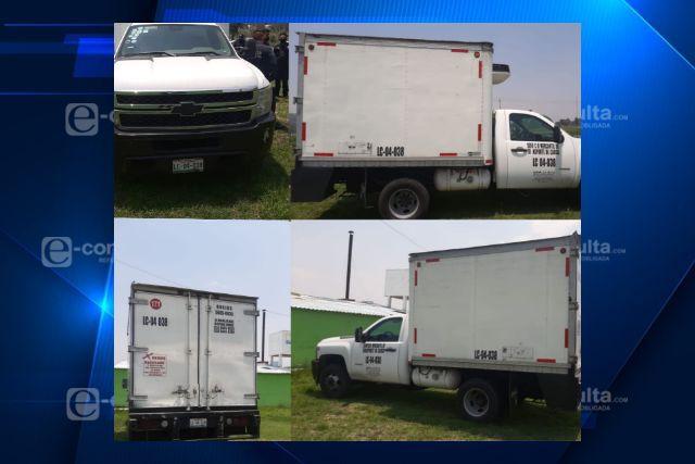 Elementos de SPM de Ixtacuixtla recuperan Camioneta robada