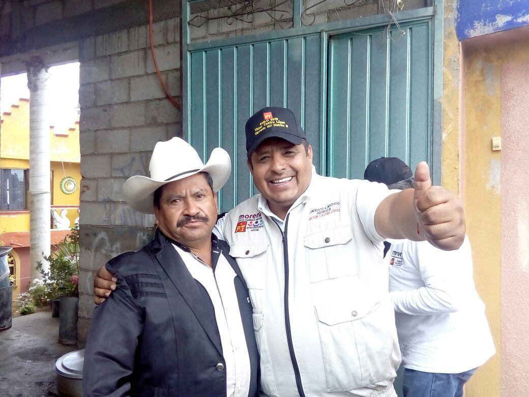Víctor Castro López aventaja en el Distrito III Xaloztoc