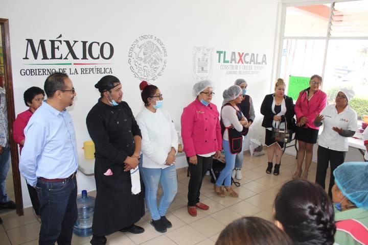 Xiloxoxtla fue sede de la demostración y orientación alimentaria