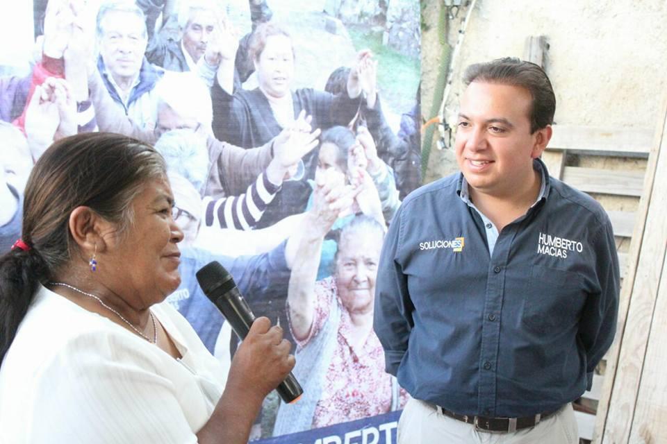 Humberto Macías candidato al Distrito I, será un aliado de los Maestros