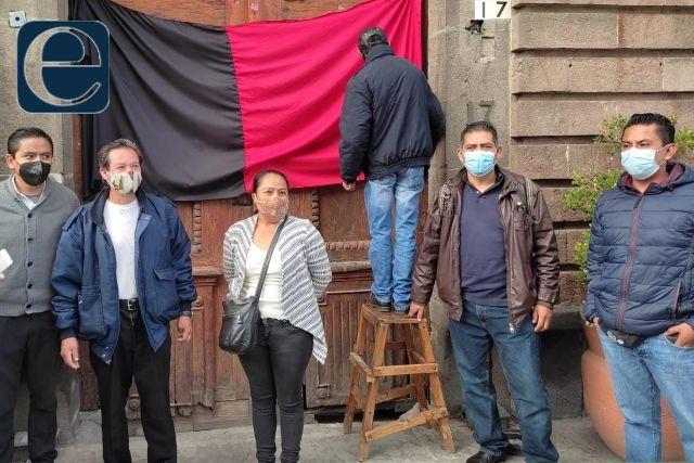 Después de un año retiran banderas de huelga del Hotel Posada San Francisco