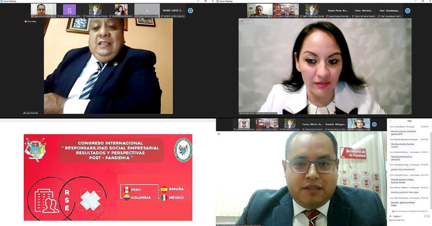 Intervino UATx en congreso internacional sobre responsabilidad social y empresarial