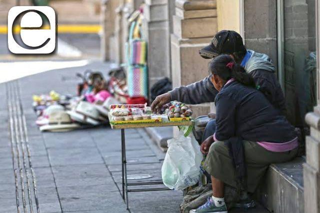 Pobreza laboral pega a mitad de los tlaxcaltecas