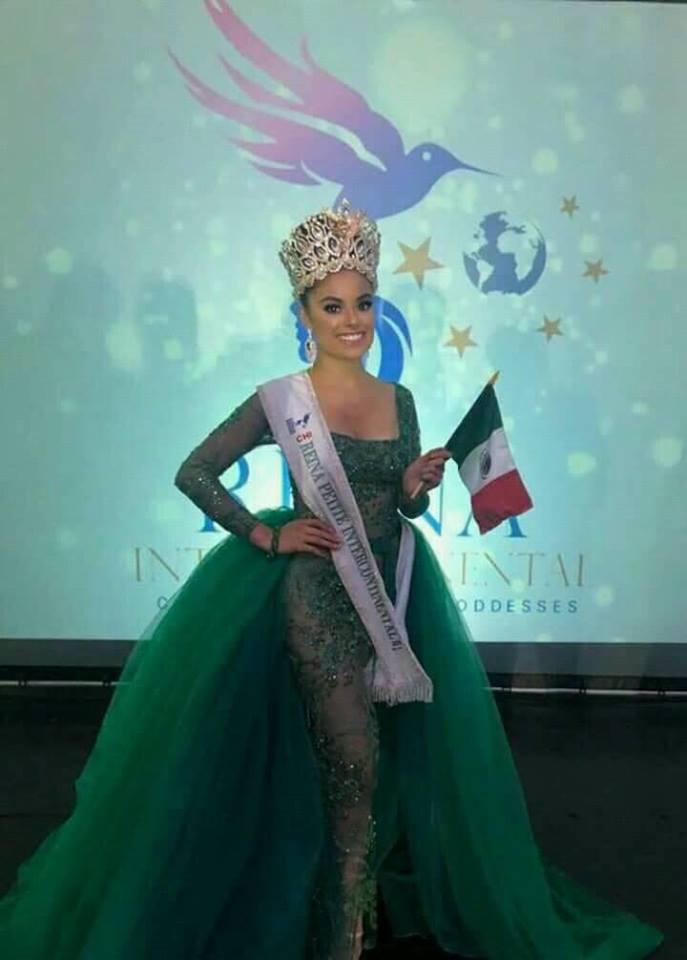 La Tlaxcalteca Tamara Esquivel se corona como reina Petite Intercontinental