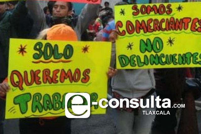 Coheteros de Sanctorum toman casetas para demandar falta de trabajo por el Covid