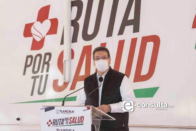 Marco Mena pone en marcha Ruta Por Tu Salud contra Covid-19, Influenza y Cáncer