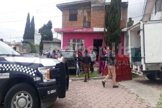 Hampones asaltan casa de gestión en Apizaquito