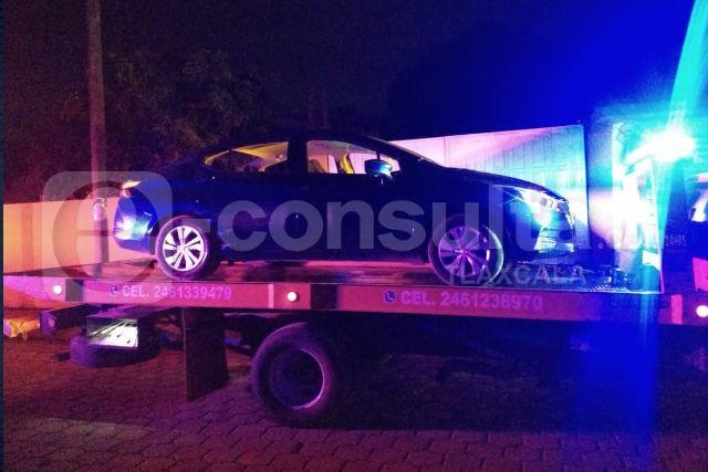 Policía de Totolac recupera vehículo con reporte de robo