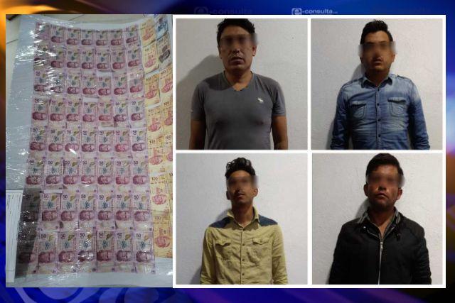 Frustra Policía de Apizaco robo a comercio; imputados a disposición del MP