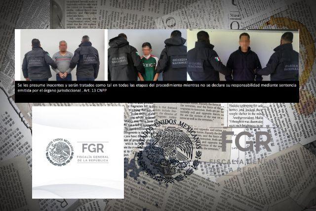 La FGR y GN cumplimentan tres órdenes de aprehensión
