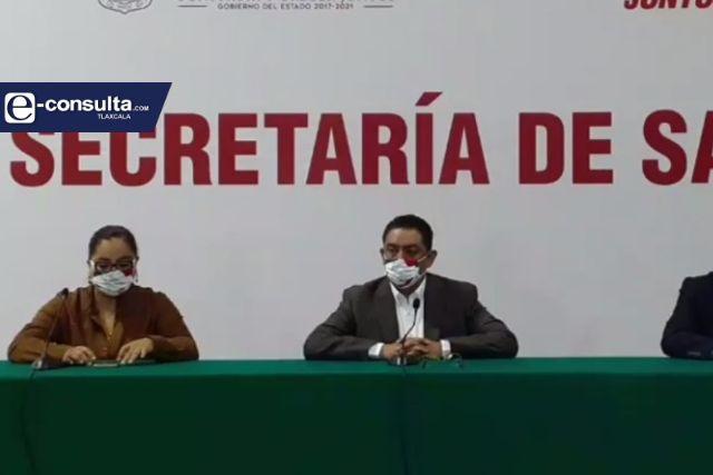 Se estancan contagios de Covid en Tlaxcala, reporta la SESA