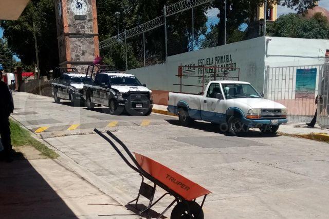 Delincuentes se burlan del presidente amoroso, asaltan primaria en Apetatitlán
