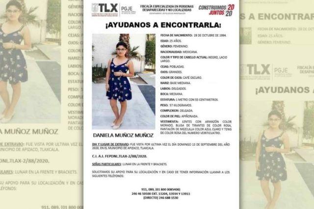 Intensifican búsqueda de Daniela tras detención del principal sospechoso de su desaparición