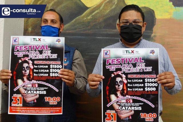 En Yauhquemehcan si habrá festival del Día de Muertos, pero será virtual