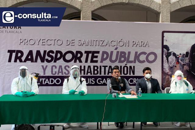Garrido va por sanitización de la capital